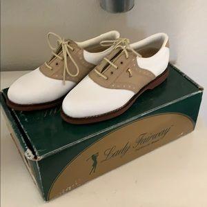 Lady Fairway Nib Golf Shoes Size